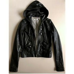 Mike and Chris Maxwell Leather Jacket